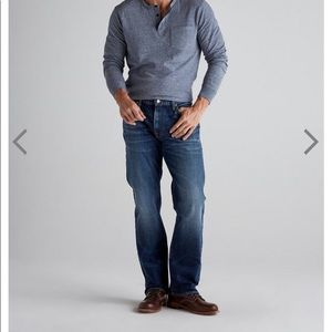 Lucky brand 363 straight classic fit jeans